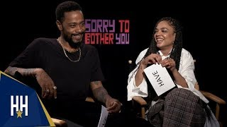 'Sorry To Bother You' Cast Plays 'Never Have I Ever'