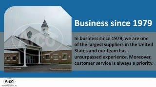 Church Steel Buildings Kits by Arco Building Systems Inc.