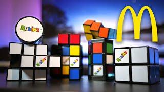 2020 McDonald's RUBIK'S CUBE Toy Reviews! 🍟