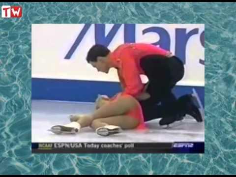 Ужасное падение российской фигуристки (2004 год) видео