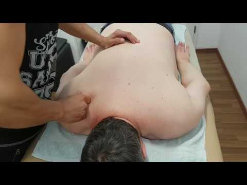 Video die Massage von schejnogo der Osteochondrose