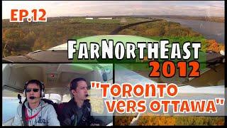 preview picture of video 'Départ de Toronto, enroute et arrivée à Rockcliffe Ottawa [FarNorthEast'12 ep.12]'