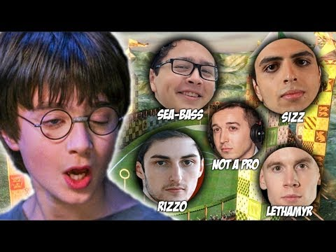 Which Rocket League Pro is the biggest Harry Potter fan?!