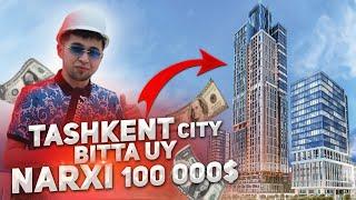 МЕН ТОШКЕНТДА / БИТТА УЙ 9 000 000 РУБ Tashkent city