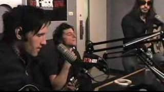 The Bravery - Time Won't Let Me Go (Acoustic on K-Rock2)