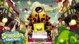 "It's A SpongeBob Christmas | ""Don't Be a Jerk It's Christmas"" Music Video | Nick"