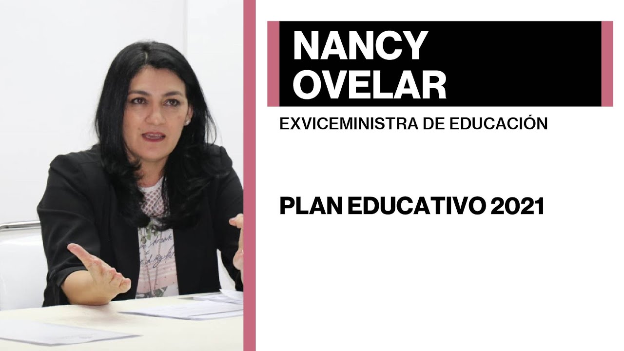 Nancy Ovelar - Plan educativo 2021