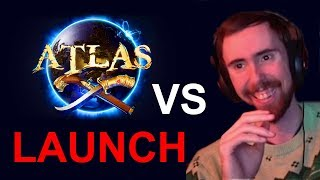 Asmongold Reacts to Atlas Game Launch vs Trailer - IT FLOPPED
