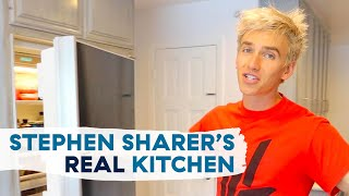 Stephen Sharer Shows Us His New Home Kitchen, Fridge, And Pantry