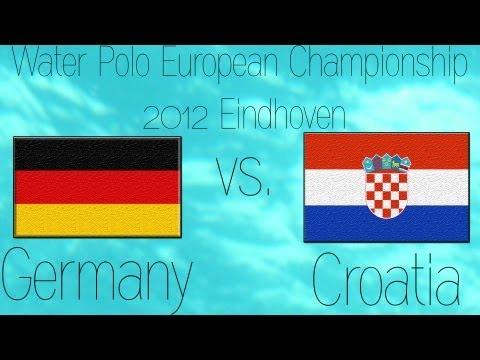 Deutschland vs. Kroatien Wasserball EM 2012 (Men)