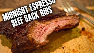 Midnight Espresso Beef Back Ribs
