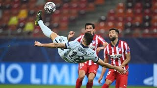 Olivier Giroud bicycle-kick goal vs Atletico Madrid (23.07.2021) All angles HD