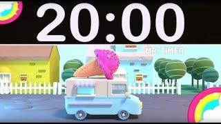 20 minute countdown timer with music for kids - मुफ्त