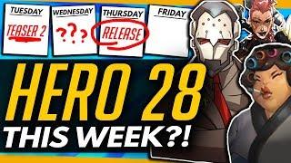 Overwatch   HERO 28 RELEASED NEXT WEEK? + Sombra 2.0 Too! (Content Calendar)