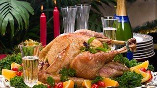 Горячие блюда к новому году ( курица, утка, рулька)