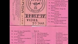 ViJoS Drum- en Showband Spant 1977 20 jarig jubileum