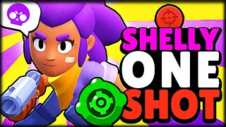 BUSCANDO EL ONE SHOT CON EL NUVO GADGET DE SHELLY - Brawl Stars - WithZack