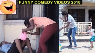 2018 TRY NOT TO LAUGH   GIRLS   Funny Videos Comedy Compilation   Family The Honest Comedy   3