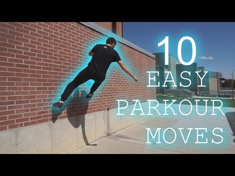 10 Parkour Moves Anyone Can Learn - YouTube