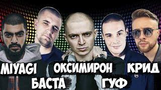 Американцы Слушают Русскую Музыку 26 КРИД, MIYAGI, БАСТА, Oxxxymiron, ГУФ,  Noize MC, OBLADAET