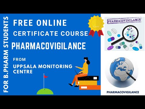 PHARMACOVIGILANCE | FREE ONLINE CERTIFICATE COURSE ...