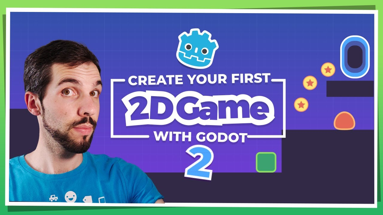 Make Your First 2D Game with Godot: Coins, Portals, and Levels (beginner tutorial part 2)
