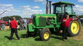 John Deere 4250 Tractor with 947 Hours Sold for Record Price on Michigan Auction
