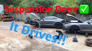 Rebuilding A Wrecked 2017 Mustang Gt Part 4