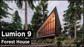 Download Lumion 9 Pro Forest House Rendering Tutorial
