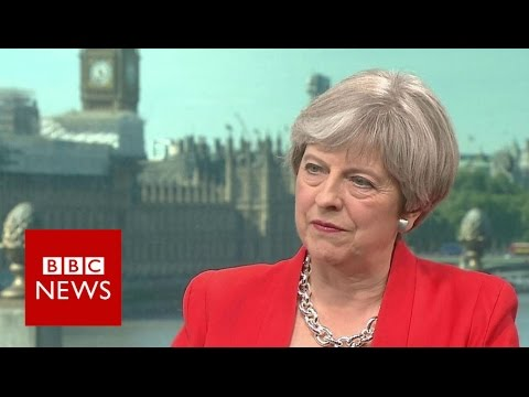 Theresa May on social care: Nothing has changed - BBC News