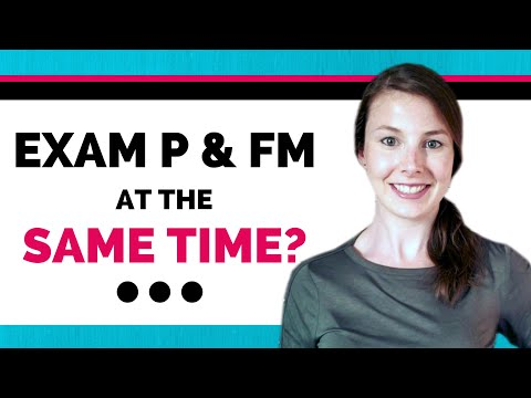 Pass Exam P and FM in just 7 months! Here's how. - YouTube