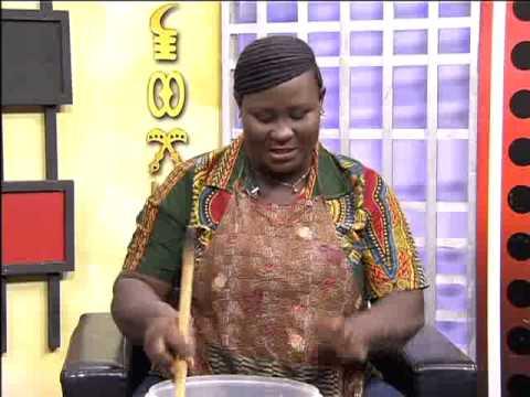 Preparing Homemade Liquid Soap Part II - Afisem on Adom TV (16-4-15)