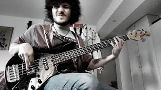 Gambar cover Tom Misch - Disco Yes (feat. Poppy Ajudha) // BASS COVER //