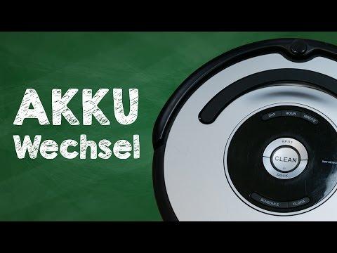 iRobot Roomba 581 usw. Akku austauschen / wechseln - Tutorial Deutsch