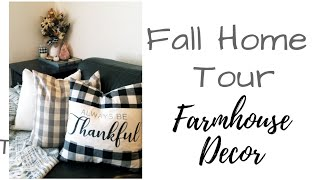 Fall Home Decor Tour // Country Farmhouse