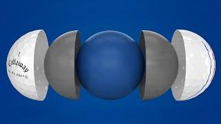 ERC Soft Triple Track Golf Balls-video