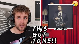 Rapper Reacts to Eminem - LEAVING HEAVEN (FEAT. SKYLER GREY) | CAN'T GET OVER THIS! (First Reaction)