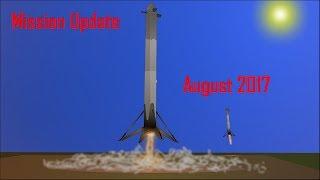 Mars Mission Update: August 2017