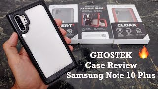 Samsung Note 10 Plus Ghostek Case Review : Atomic Slim 3, Cloak 4 & Covert 3