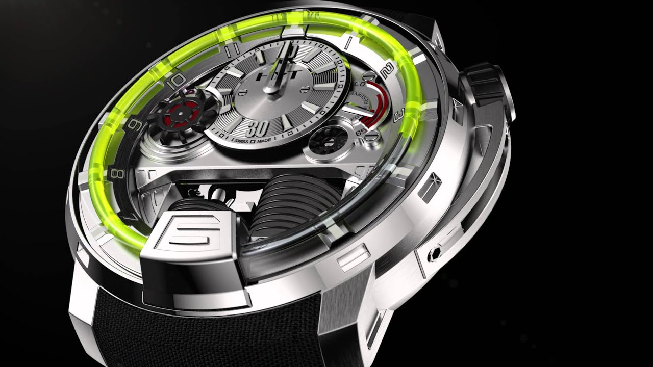 This Watch Uses Pistons, Bellows And Liquid