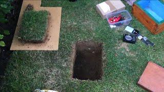 Burying a treasure chest in my garden!