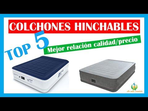 ✅ COLCHÓN INFLABLE  ✅ | ❤️ Los 5 colchones hinchables con MEJOR RELACIÓN CALIDAD/PRECIO ❤️