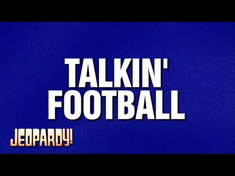 Jeopardy! - Football is Not My Forte (Feb. 1, 2018)