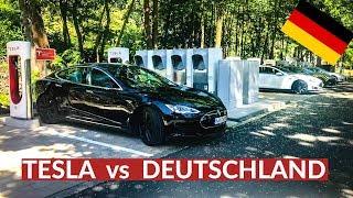 Tesla Trickst Deutschland Aus Und Baut Größten Supercharger! - Video Youtube