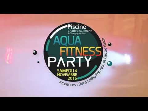 Aqua Fitness Party 2015 - Bassin de Pompey