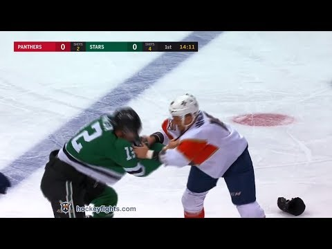 Micheal Haley vs Radek Faksa