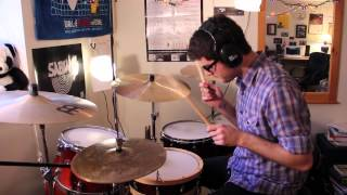 "Evan Chapman - ""Snare Hangar"" by Battles (Drum Cover) *HD*"