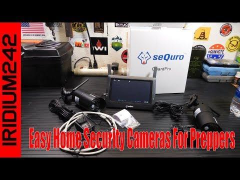 Sequro Wireless: Easy Home Security Cameras For Preppers