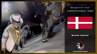 Michael Jackson Live In Copenhagen 1992: Smooth Criminal - Dangerous Tour