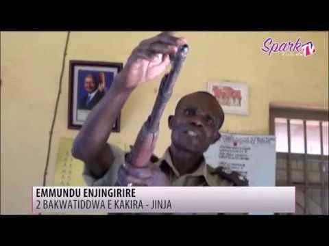 Babiri bakwatiddwa n'ebyambalo bya UPDF n'ekimundu ekijingirire